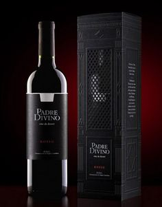 Padre Divino (Divine Priest) Package Design