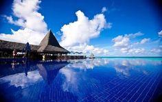 Hotel Kia Ora, Isla de Rangiroa, Polinesia Francesa.