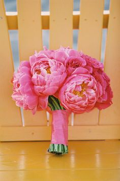 Pink peony wedding flower bouquet, bridal bouquet, wedding flowers, add pic source on comment and we will update it. www.myfloweraffair.com can create this beautiful wedding flower look.