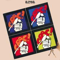 """Area: """"Crac!"""", 1975, studio album cover"""