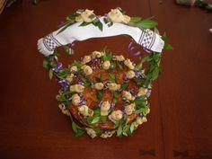 Ukrainian Wedding Bread - Korovai made by Lisa McDonald. Ships allover the US and Canada.
