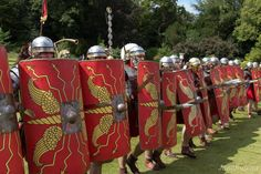Escapes and Photography: Waddesdon Manor's Roman Weekend Part 1 - The Roman Army