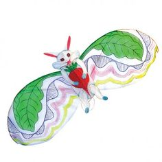 Crazy flying rabbit kite