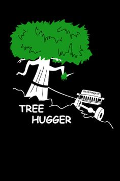 Tree Hugger TShirt Jeep Cherokee Black by BleepinJeep on Etsy