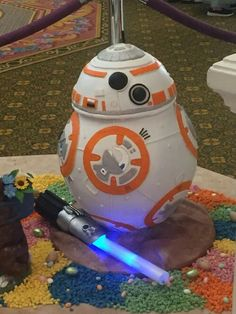 BB-8 Easter egg! #disney #starwars #bb8