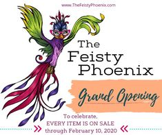 The Feisty Phoenix Boutique Fun Shopping, Pop Up Shops, Grand Opening, Funny Gifts, Phoenix, Vip, Boutique, Humor, Facebook