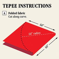 Probably the easiest teepee tutorial I've seen here Kids Tents, Teepee Kids, Play Tents, Teepee Tent, Teepee Tutorial, Projects For Kids, Crafts For Kids, Sewing Hacks, Sewing Projects