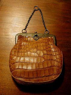 Tiffany s Edwardian Silver and Alligator Bag 0b3e9e18ef94a