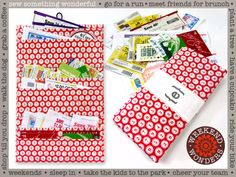 Coupon Clipper Wallet: Weekend Wonders Returns with Fabric.com   Sew4Home