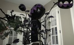 Add some Monster-plants-from-outer-space to your Halloween Decor. Photo from E. Lillith McDermott