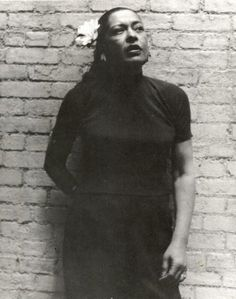Billie Holiday could express more emotion in one chorus than most actresses can in three acts. Billie Holiday, Lady Sings The Blues, Music Pics, Miles Davis, Jazz Musicians, Jazz Blues, My People, Ladies Day, My Idol