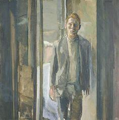 Michael Andrews (British, 1928-1995), Portrait of Timothy Behrens, 1962.  Thyssen-Bornemisza, Madrid.