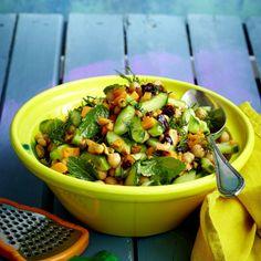 Möhren-Gurken-Salat