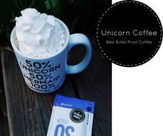 This unicorn coffee is THE BEST bullet proof coffee recipe, not only because of the taste, but the amazing benefits of the ingredients. This my favorite way to drink chocolate swirl Keto//OS. I'll never drink coffee without this stuff again. You can also get ketone samples ordered over on the blog.