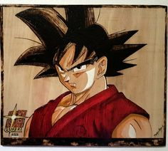 #pyrography #dragonballsuper #draw #drawing #anime Ball Drawing, Pyrography, Dragon Ball, Drawings, Anime, Instagram, Artists, Sketches, Cartoon Movies