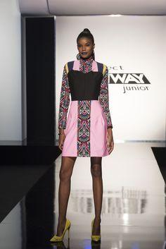Designer Hawwaa's look on Project Runway Junior
