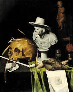 BREVEDAD DE LA VIDA  En las vanidades, los objetos representados son todos símbolos de la fragilidad y la brevedad de la vida, de que el tiempo pasa, de la muerte.(Mt)