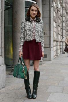 Street Style From London Fashion Week - http://www.flare.com/fashion/street-style-fashion/smashing-street-style-from-london-fashion-week/