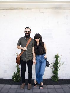 New Darlings: Life Lately & How We Unwind... - Casual Spring Outfits - Wide leg denim - His & Hers UGG shoes