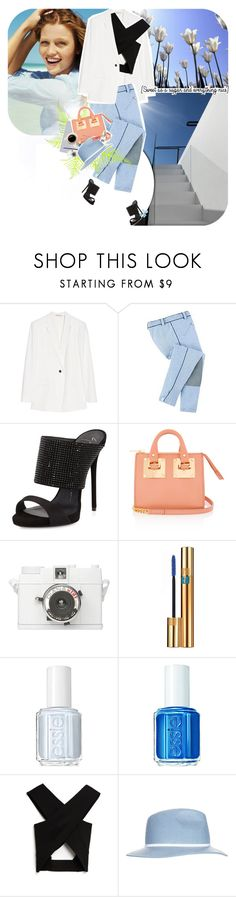 """""""sweet as a sugar..."""" by ladysnape ❤ liked on Polyvore featuring T By Alexander Wang, Giuseppe Zanotti, Sophie Hulme, Lomography, Yves Saint Laurent, Alicia Hannah Naomi, Essie, BOBBY, Josh Goot and Topshop"""
