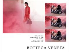 a901c668c0 Discover Bottega Veneta s Spring Summer 2018 Reflections womenswear campaign  featuring models Aube Jolicoeur