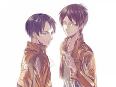 Attack on Titan ~~ Eren and Levi