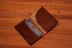 Inside of Leather Wallet