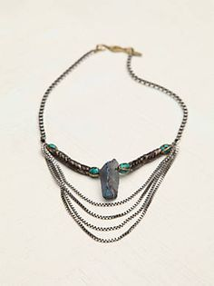 Free People Paint The Sky Statement Necklace, $258.00