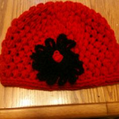 Hat I crocheted for my niece