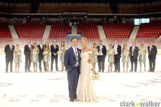 Sports fan grooms will love this! Blog | Clark+Walker Studio | Albany wedding photographers