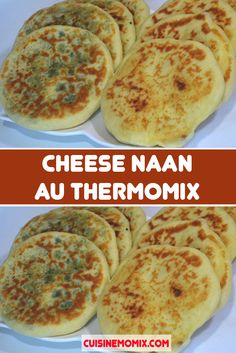 Cheese naan au Thermomix - The Best Indian Recipes Vegan Breakfast Recipes, Vegan Recipes Easy, Crockpot Recipes, Vegetarian Recipes, Snack Recipes, Indian Snacks, Indian Food Recipes, Ethnic Recipes, Naan