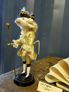 French Christmas mouse via manon 21