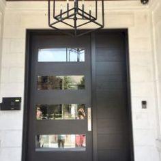 Side Light Entry Doors | Amberwood Doors Inc. Entry Doors, Front Doors, Double Doors Exterior, Wooden Main Door Design, Wooden Doors, Custom Design, New Homes, House Design, Ghana