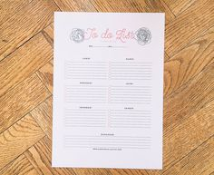 Mademoiselle Stef - Blog Mode, Dessin, Paris | Back to school : To do list vierge à télécharger ! | http://www.mademoisellestef.com
