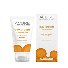 Acure Day Cream: An easily absorbed moisturizer that works well on all skin types.