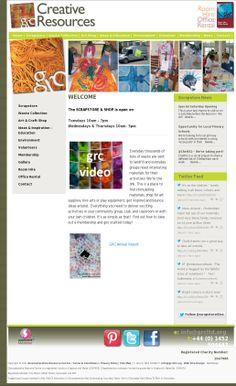 Our website :-)  Gloucestershire Resource Centre http://www.grcltd.org/scrapstore/