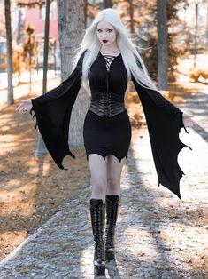 Hot Goth Girls, Gothic Girls, Goth Beauty, Dark Beauty, Anastasia Model, Gothic Fashion, Fashion Beauty, Steampunk, Leder Outfits