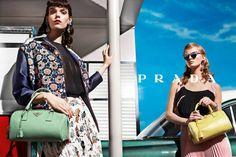 Prada SS 2012 by Steven Meisel  Models: Guinevere van Seenus & Meghan Collison