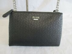 Guess Black Shopper Crossbody Style VY637107 Group