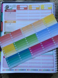 Erin Condren Teacher Planner Stickers! Including ones to make your planner vertical!!