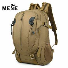 MEGE Men Women Outdoor Military Army Tactical Backpack Trekking Sport  Travel Rucksacks Camping Hiking Hunting Camouflage 15daaabd02699