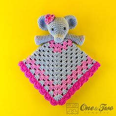 Ravelry: Elephant Security Blanket pattern by Carolina Guzman
