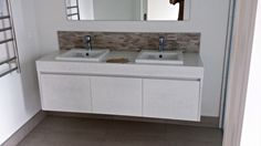 Add a point of difference and value to your home & bathroom with a custom made vanities. From solid timber to paint finish, we can handcraft a vanity Corner Bathroom Vanity, Bathroom Vanity Cabinets, Bathroom Furniture, Double Vanity, Custom Made, Dresser, Furniture Design, Vanity Ideas, Joanna Gaines