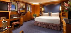 Unique Long Beach Accommodations | Queen Mary Hotel | Original Art Deco Staterooms and Suites at the Queen Mary Long Beach