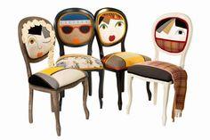 tasarım avı: Karakter sahibi koltuklar...  Hangisi sizi yansıtıyor?  Sanal ortamda bizi temsil eden avatarlar şimdi de mobilyalarda.   #design #furniture  #interestingfurniture #designfurniture