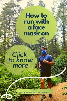 In the new COVID-19 world, it could be hard to understand, When? What? How? You should wear a mask while running. Here are some thoughts about it. Running Routine, Running Plan, Running Workouts, Running Tips, Running Training Programs, Race Training, Learn To Run, How To Start Running, Health And Wellness Coach