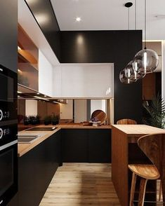 9 Amazing Useful Tips: Minimalist Kitchen Design Outdoor minimalist decor kitche. - Ideen rund ums Haus You are in the right place about tropical asian interior Here we offer you the most beautiful Luxury Kitchen Design, Contemporary Kitchen Design, Best Kitchen Designs, Interior Design Kitchen, Home Interior, Contemporary Design, Interior Ideas, Modern Interior, Modern Design