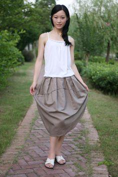 new style footprint skirt 2more colour and size by thesimpson, $53.00