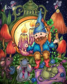Markova, Fairy, Magic, Enchanted, Touch, Coloring, Painting, Photo And Video, Videos