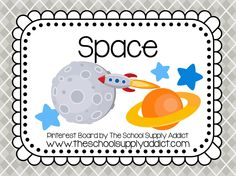 Space Pin Board by The School Supply Addict